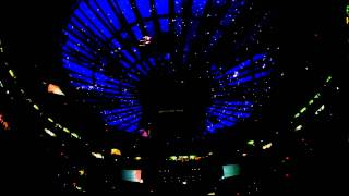 Phoenix Madison Square Garden 10.20.10 Love Like A Sunset (ceiling angle)