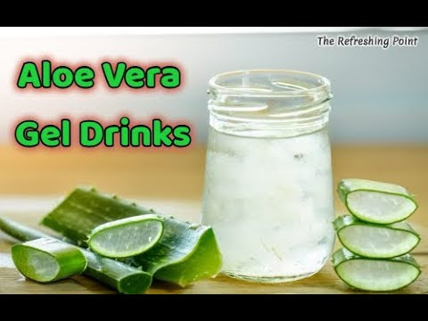 Tasty and Easy Aloe Vera Gel Drinks That Will Boost Your Immune System and Alkalize Your Body