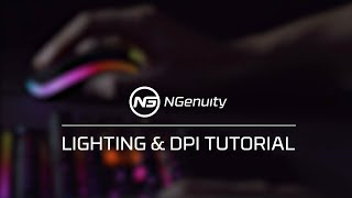 How to Setup the Pulsefire Surge RGB Mouse Color and DPI settings with the NGenuity Software