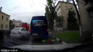 Маршруточные мудаки на дорогах Новороссийска