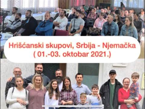 Hrišćanski skupovi, Srbija-Njemačka (Oktobar 2021)