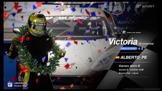 🚩Gran Turismo SPORT Online🚩Road to Trophy, Record de victorias, 16 Victorias,C.B.Lamborghini Huracan