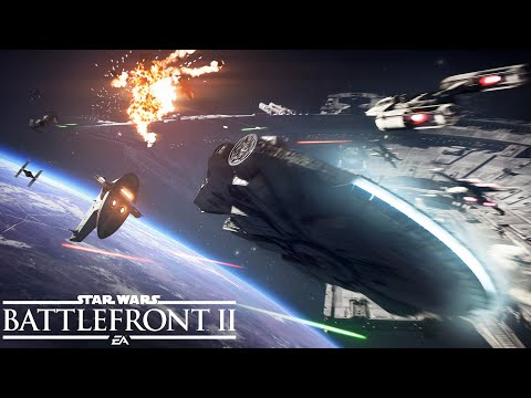 Star Wars Battlefront 2: Official Starfighter Assault Gameplay Trailer thumbnail