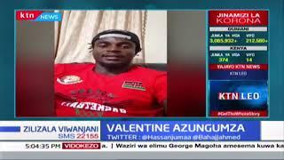 Mchezaji wa vikapu Valentine azungumza akiwa karantini