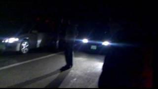 preview picture of video 'Subaru WRX STI vs Mitsubishi Lancer   16/05/2010 Караганда Аэропорт'