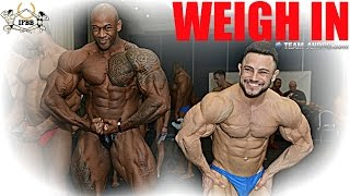 THIS IS BODYBUILDING - weigh In Video (SICK!)