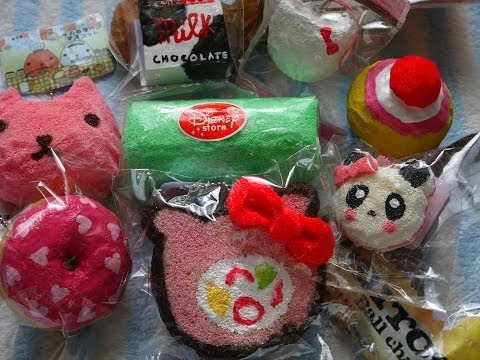 Squishy Haul From China : Download link Youtube: Top 10 Favorite Homemade Squishies