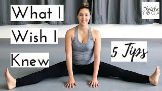 Advice for Yoga Beginners | 5 Yoga Tips for Beginners | Suggestions for How to Start Yoga