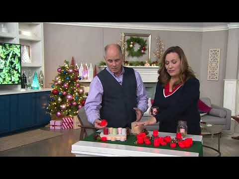 Candle Impressions Set of 20 Assorted Votive & Tealights on QVC