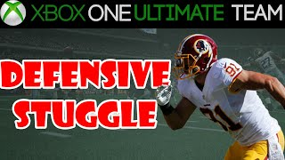 Madden 15 - Madden 15 Ultimate Team - DEFENSIVE STRUGGLE | MUT 15 Xbox One Gameplay