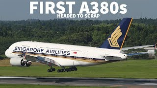 FIRST Airbus A380s HEADED To SCRAP