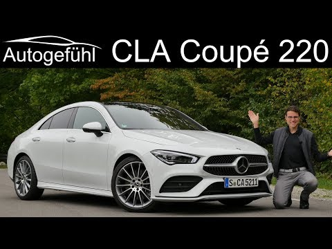 Mercedes CLA FULL REVIEW CLA Coupé 220 4Matic - Autogefühl