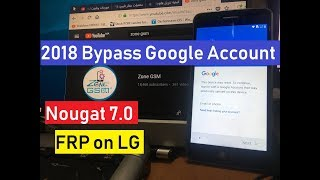 New Method Bypass google account on LG Phones Android 7 | NO LDB USB