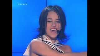 Alizee - I'm fed up (J'en ai marre) (Live)