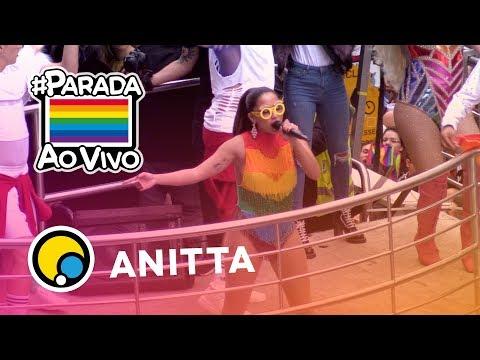 Anitta na Parada LGBT 2018 de São Paulo