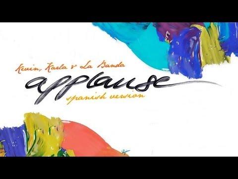 Música Applause (Spanish Version)