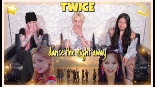 TWICE (트와이스)   Dance The Night Away MV REACTION!