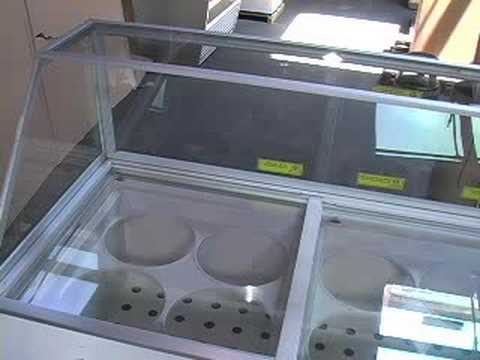 EDC8 - EIGHT TUB ICE CREAM DIPPING CABINET