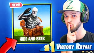 *NEW* HIDE & SEEK MINI-GAME in Fortnite: Battle Royale!