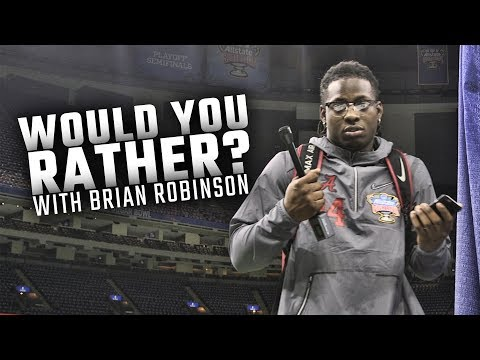 Media Day 'Would You Rather' with AL.com guest reporter Brian Robinson