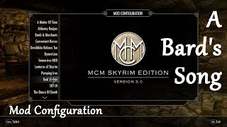 Let's Play Skyrim - A Bard's Song - Mod Configuration