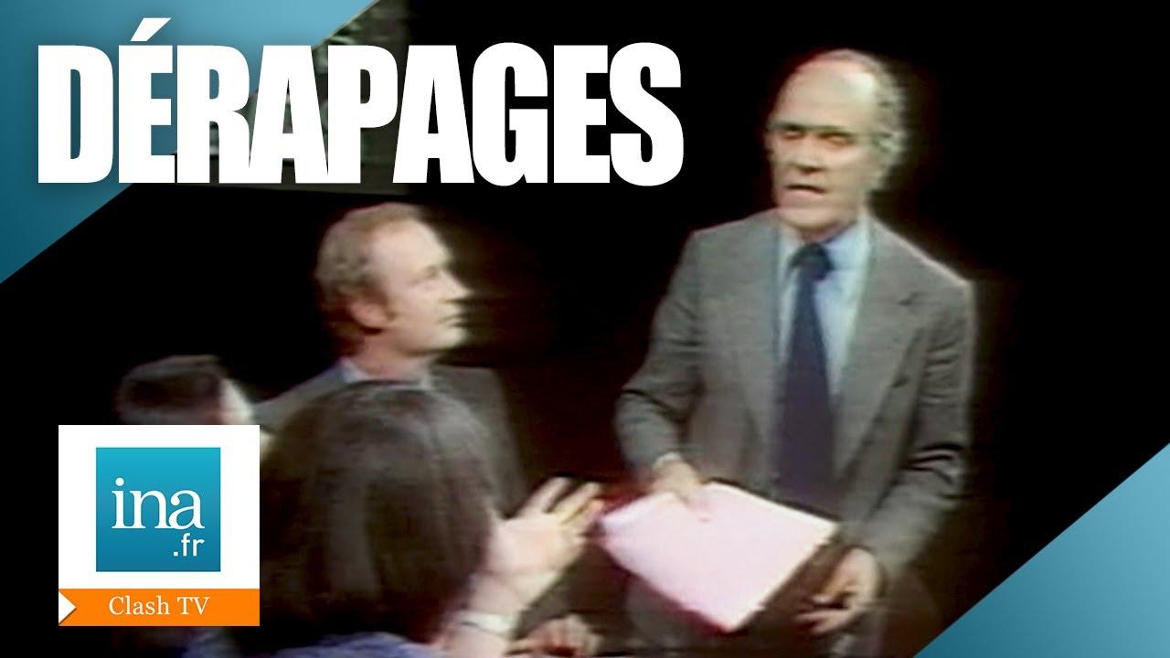 😡 5 clashs cultes à la télévision 😡   Archive INA