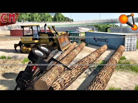 Accidents on construction site #2 BeamNG Drive