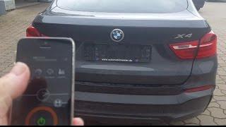 Active Sound - BMW X4 Diesel mit Soundbooster