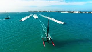 Cheering on OracleTeamUSA to a third consecutive Americas Cup!