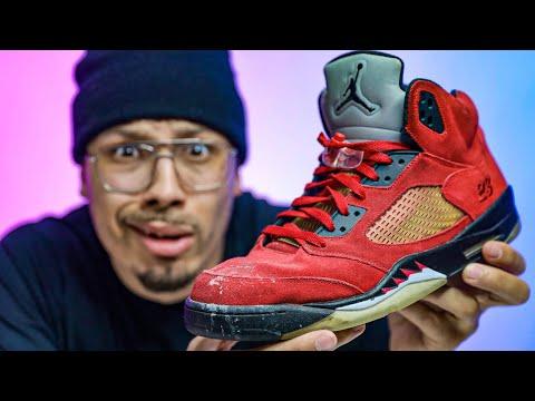 My Dad Destroyed This $700 Air Jordan Sneaker