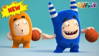 टर्बो स्लैम डंक   हिंदी कार्टून   Oddbods Hindi   Hindi Cartoons for Kids