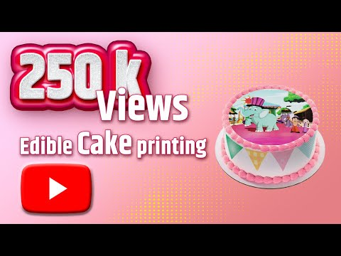 Edible Inks for Photo Cake Printer