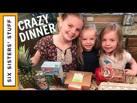 CRAZY DINNER - Kid Holiday Tradition