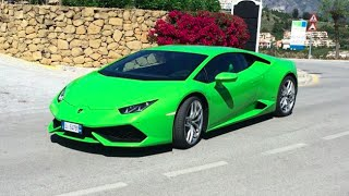 Brand New Lamborghini Huracan crash ( HQ ) 320KM/h  supercar M7 motorway  SMRFK