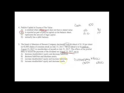 ACC101- Final Practice Exam - YouTube