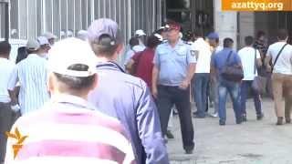 Очевидец драки на рынке в Астане