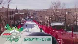 preview picture of video 'Dew Downtown Flagstaff January 24-25, 2015'