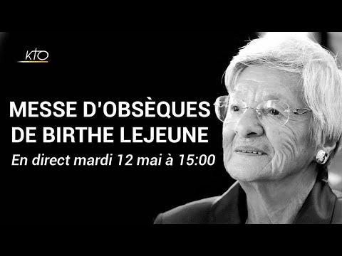 Messe d'obsèques de Birthe Lejeune