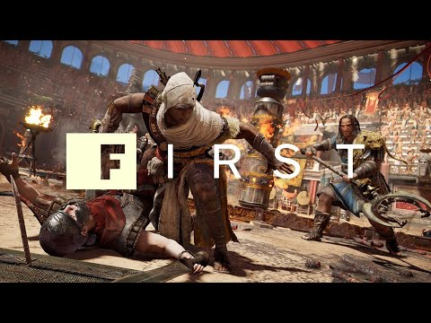 Assassin's Creed Origins: Combat and Arena Deep Dive – IGN First