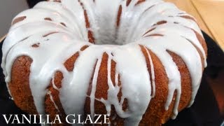 Vanilla Glaze - easy recipe