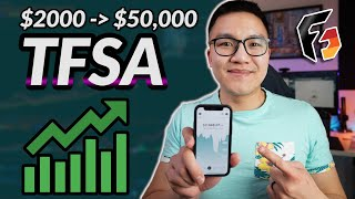 Wealthsimple Trade TFSA: $2000 to $50k With Only CANADIAN Stocks