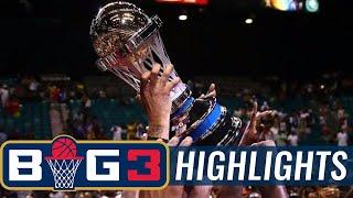 Trilogy vs. 3-Headed Monsters | BIG3 CHAMPIONSHIP HIGHLIGHTS