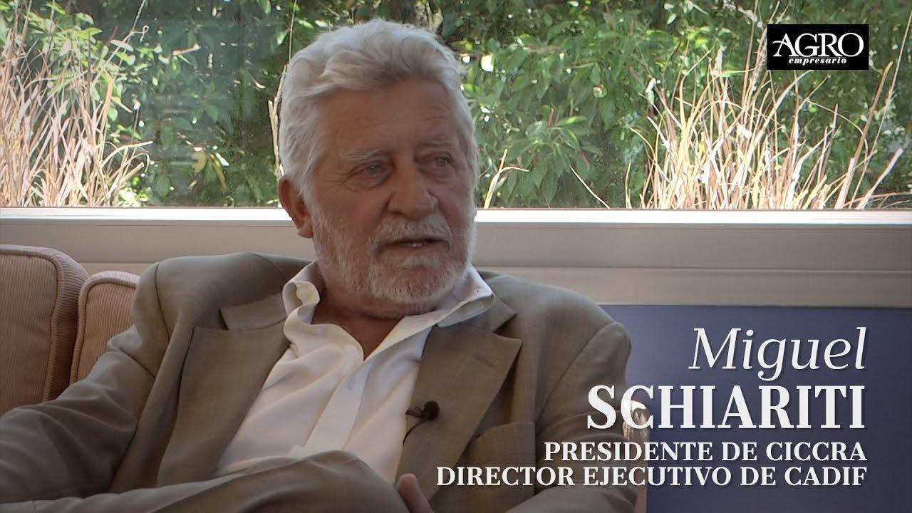 Miguel Schiaritti - Presidente de CICCRA, Director ejecutivo de CADIF