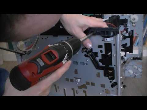 HP laserjet pro 400 color printer teardown part 4 screwdriver marathon