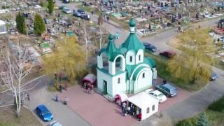 Радуница в Минске с высоты. Московское, Чижовское, Северное и Михановичское кладбища