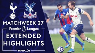 Tottenham v. Crystal Palace   PREMIER LEAGUE HIGHLIGHTS   3/7/2021   NBC Sports