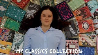 MY ENTIRE CLASSICS COLLECTION // Book Collection Tour