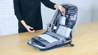 Рюкзак антивор Bobby Anti-theft Backpack USB Black от компании Интернет магазин Voltron - видео
