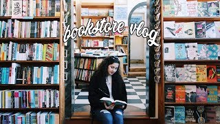 A Day At The Bookstore | Vlog