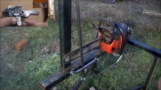 Automatic Firewood Processing Machines,  homemade